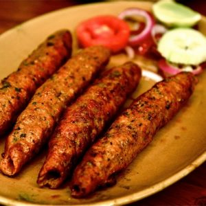 Halal Beef Seekh Kabab Marinated