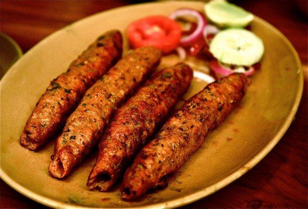 Halal Beef Seekh Kabab Marinated
