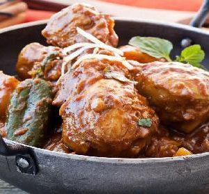 halal Chicken Kadai