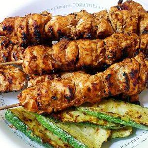 Halal Chicken Seekh Kabab Marinated