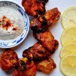 Halal Chicken Wings Tandoori