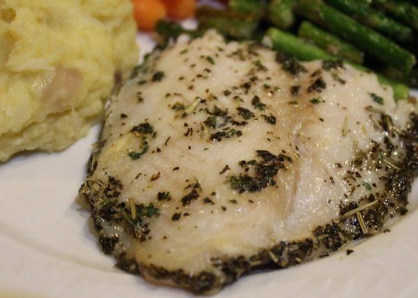 Halal Fresh Catfish Steaks Marinated