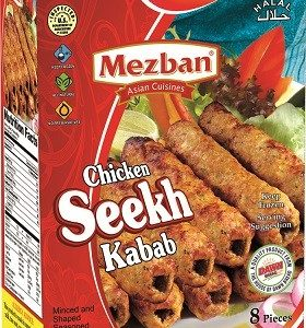 Mezban - Halal Chicken Seekh Kabab