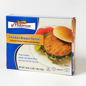 Midamar - Halal Chicken Breast Patties