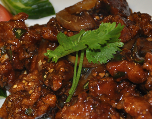 Halal chilli chicken desi style